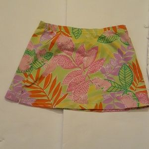 Lilly Pulitzer kids skirt
